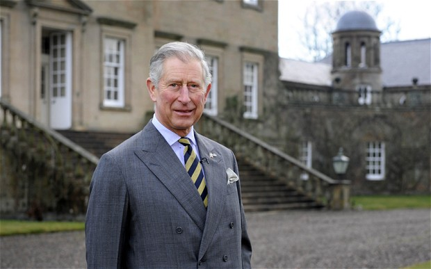 Benefit cheat outside his tax free mansion